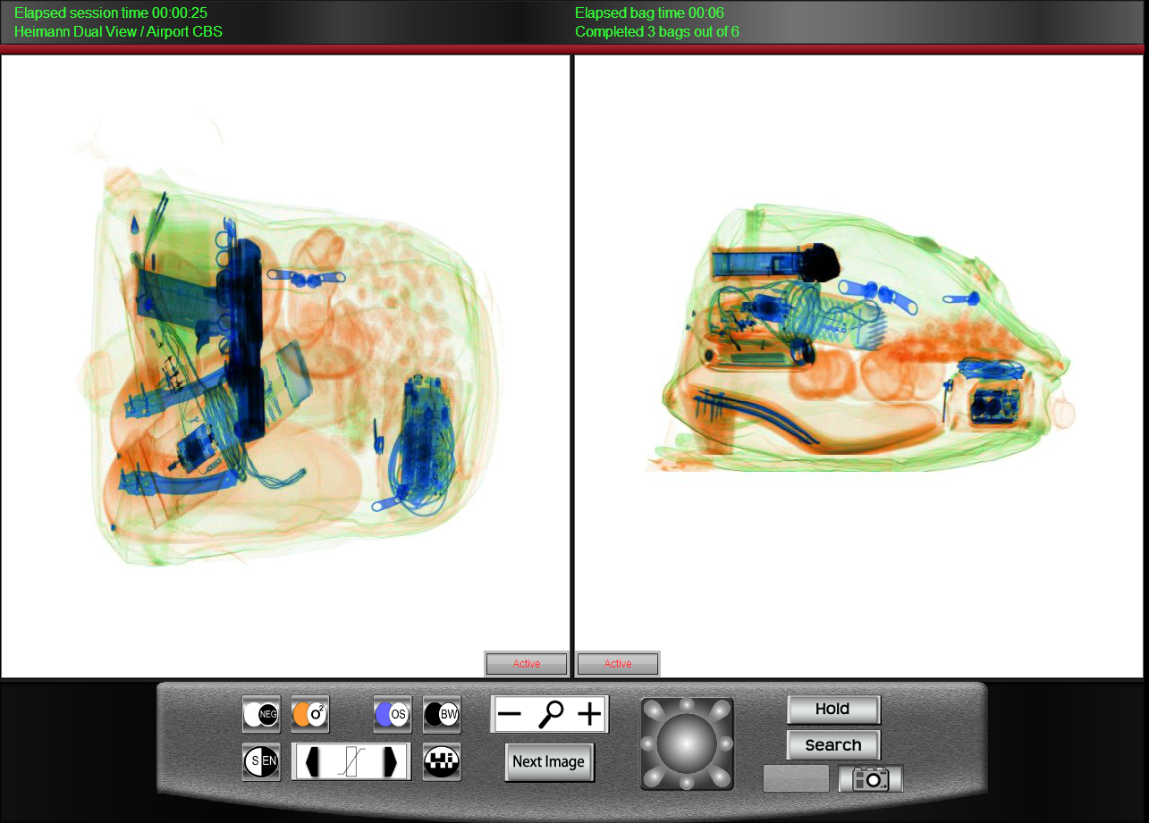 Security X-Ray CBT Software